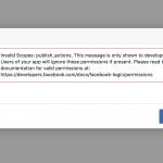 【悲報】Facebookは4/25以前に「publish_actions」を廃止した模様